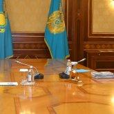 Президент встретился с Розой Мукановой