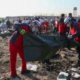 В Украину доставили тела погибших в авиакатастрофе (видео)