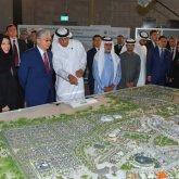 Президенту показали будущий павильон Казахстана, который построят к «ЭКСПО-2020»