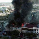 «Таинственный» фонд оплатил ремонт сгоревшего драмтеатра в Атырау
