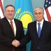 Президент Казахстана принял Госсекретаря США
