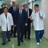 Президент посетил кардиохирургический центр