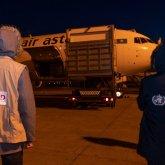 Средства индивидуальной защиты отправили США в Казахстан
