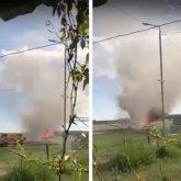 Самолет горел в Восточно-Казахстанской области