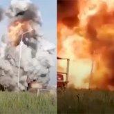 Мощный взрыв прогремел в Атырау