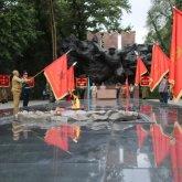Мини-парад в честь Дня Победы прошел в Алматы