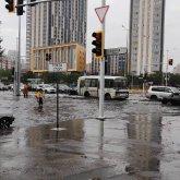 Как решается проблема затопления улиц, рассказал Алтай Кульгинов