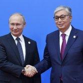 Касым-Жомарт Токаев поздравил Владимира Путина