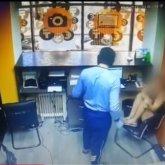 Дерзкое ограбление попало на видео в Нур-Султане