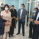 Вице-премьер посетил столичный департамент Антикоррупционной службы