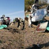 Самодельный самолет упал в Уральске, пилот погиб