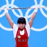 Казахстанка Зульфия Чиншанло завоевала серебро международного Кубка по тяжелой атлетике