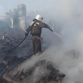 Четыре человека погибли при пожаре в Северном Казахстане