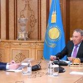 Нурсултану Назарбаеву рассказали о проводимой работе по защите прав казахстанцев