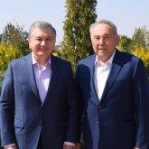 Нурсултан Назарбаев встретился с президентом Узбекистана