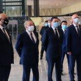 Нурсултан Назарбаев принял участие в открытии нового аэропорта в Туркестане