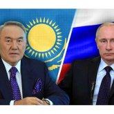Нурсултан Назарбаев и Владимир Путин обменялись мнениями о развитии ситуации в регионе