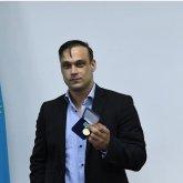 Илью Ильина наградили медалью