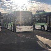 170 купленных китайских автобусов с июня простаивают в Атырау