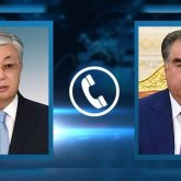 Касым-Жомарт Токаев тепло поздравил Эмомали Рахмона с переизбранием