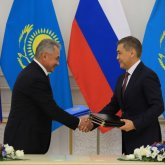 Казахстан и Россия обновили договор о военном сотрудничестве