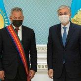 Касым-Жомарт Токаев наградил орденом Сергея Шойгу
