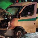 Инкассаторская машина загорелась в Экибастузе