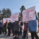 Кыргызстанцы снова вышли на митинги