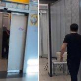 Полицейский жестоко избил пассажира в аэропорту Алматы