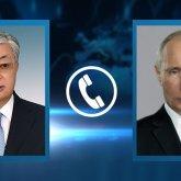 Касым-Жомарт Токаев и Владимир Путин подтвердили союзнический характер отношений между Казахстаном и Россией