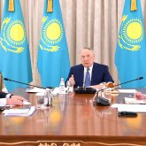 Заседание Совета по управлению ФНБ «Самрук-Қазына» прошло под председательством Первого Президента Казахстана