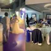 Испугавшись полицейских, гости сбежали со свадьбы в Таразе