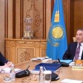 Нурсултан Назарбаев и Аблай Мырзахметов обсудили вопросы обеспечения занятости населения