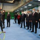 Президент посетил новый теннисный центр Караганды