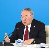 Опубликовано видео выступления Нурсултана Назарбаева на съезде «Nur Otan»