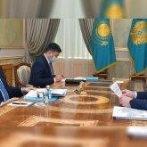Президенту рассказали о возводимом жилье в Казахстане