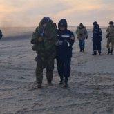 Трое суток в открытом море находились семь казахстанцев
