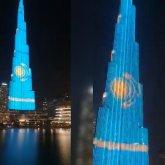 Казахстанцев «поздравит» самое высокое здание в мире