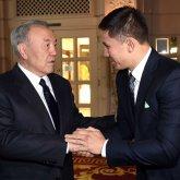 Нурсултан Назарбаев поздравил Геннадия Головкина
