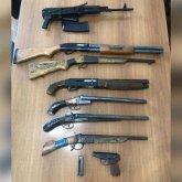 Арсенал оружия скрывал житель Павлодара в Алматы