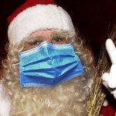 Алматинцам запретили приглашать домой Деда Мороза и Снегурочку