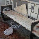Залитая кровью остановка шокировала жителей Усть-Каменогорска