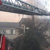 Здание Совминки загорелось в Алматы
