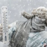 Штормовое предупреждение: трескучий мороз ожидается в пяти областях Казахстана
