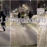 Пьяный судоисполнитель не смог убежать от полицейских в Уральске