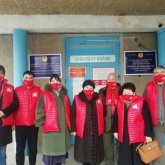 Медработникам Шымкента рассказали о предвыборной программе НПК