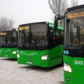 О работе общественного транспорта в новогодние выходные рассказали в Алматы