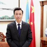Чжан Сяо поздравил казахстанцев на китайском языке с Новым годом