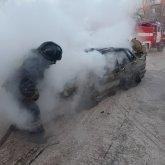 13 машин сгорело на автомойке в Нур-Султане