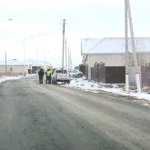 Асфальт укладывали в снег в Кызылорде